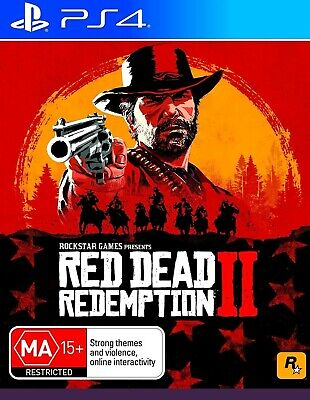 Red Dead Redemption II 2  PS4 - FAST FREE Postage (broken CD box)