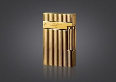 NEW S.T Memorial lighter Bright Sound ! gold color free shipping