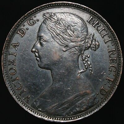 1893 | Victoria Penny | Bronze | Coins | KM Coins