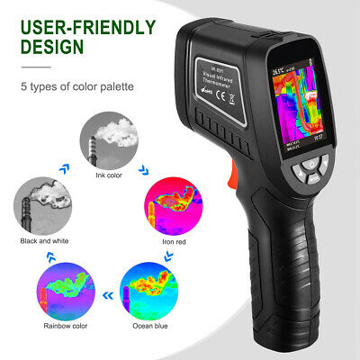 "8GB Thermal Imaging Camera 240x320 Screen IR Resolution 1089 Pixels 2.5"" Screen"