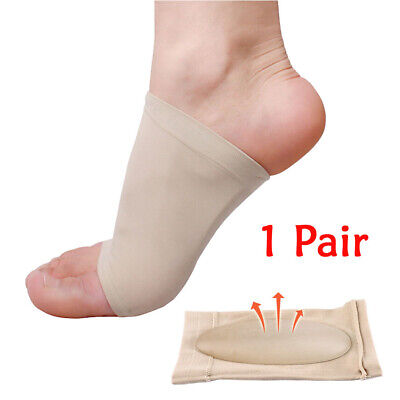 ARCH Support Shoe GEL Insole Flat Feet Pad PAIN RELIEF Plantar Fasciitis Foot H