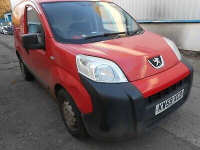 2010 Peugeot Bipper 1.4 Hdi Panel Van (Ex Royal Mail) With Only 69K Miles H.p.i.