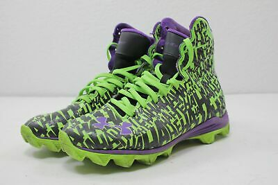 c594a04f2 UNDER ARMOUR HIGHLIGHT Alter Ego Spider-Man Football Cleats Kids  5Y ...