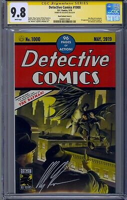 Detective Comics #1000 Cgc 9.8 Ss Alex Ross Signed Trade Dress #27 Homage