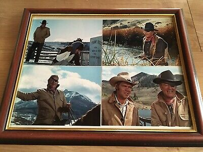 John Wayne Framed Photographs - True Grit