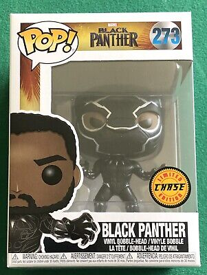 Funko Pop! Marvel Black Panther #273 Limited Edition Chase! New In Box!!! Look!!