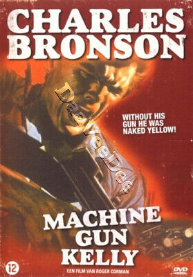 Machine Gun Kelly NEW PAL Classic DVD Charles Bronson