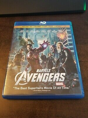 The Avengers (Blu-ray/DVD, 2012)