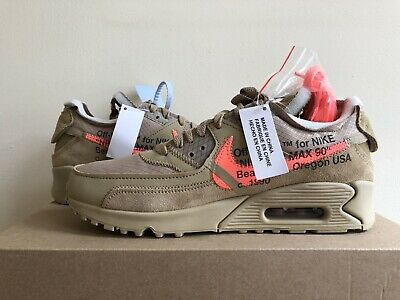 newest ec172 7c607 Nike Air Max 90 The 10 x Off-White Virgil Abloh UK 6.5 US 7.5