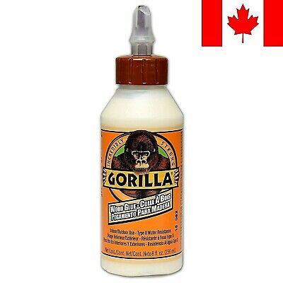 Gorilla Wood Glue, 8 oz.  ~ FAST & FREE SHIPPING
