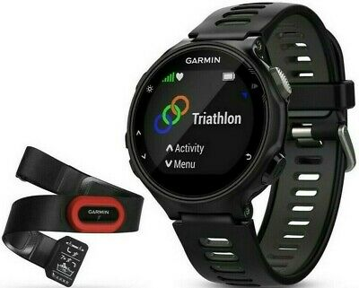 GARMIN Forerunner 735XT GPS Multisport & Running Watch +Heart Rate Monitor,Black