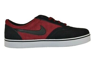 Nike VULC RODRIGUEZ TEAM V Red Black Suede Casual Skate (D) (151) Men's Shoes