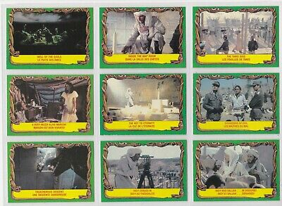 1981 O-Pee-Chee Indiana Jones Raiders Of The Lost Ark cards N/M, 36 LOT