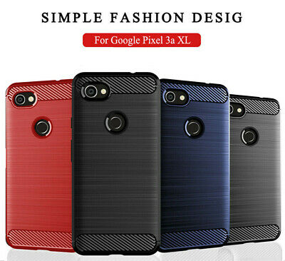 For Google Pixel 2 3a XL Shockproof Slim Soft TPU Rugged Armor Hybrid Cover Case