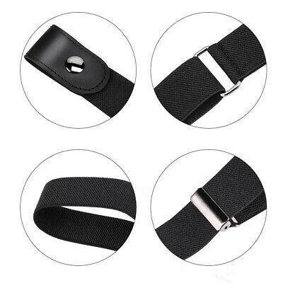 Waistband Women Elastic Invisible Waistbands Buckle-free Casual Waist Belts