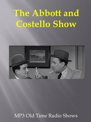 Abbott & Costello  115  Old Time Radio Shows on a single CD