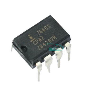 10PCS ICL7660SCPAZ ICL7660 7660S DIP-8 INTERSIL CMOS Voltage Converters IC