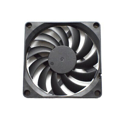 3000RPM 80mm DC 5V 2 Pin Silent PC Computer Case Cooling Fan Cooler Radiator Hot