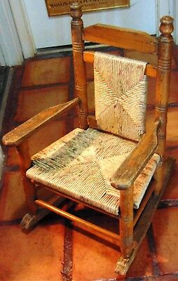 Quality, Antique, Cain, Children's Rocking Chairs - #2!