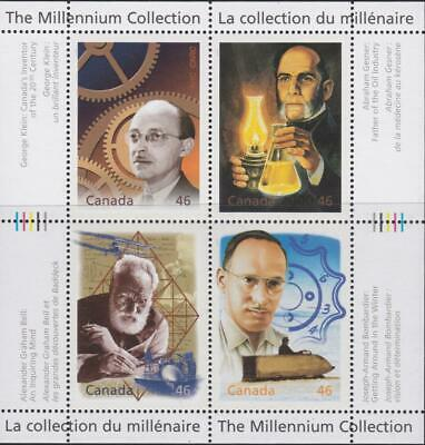 CANADA 2000 Millennium collection #1832 – 15 Fathers of Invention - MNH