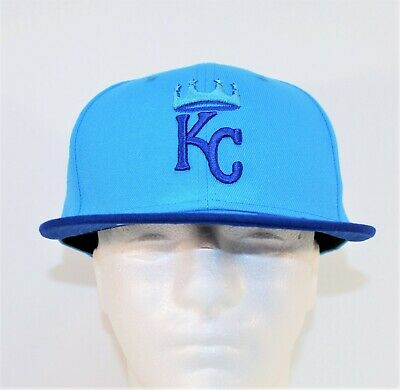 buy online 62557 b02f0 New Era Kansas City Royals 2018 Players Weekend 59FIFTY Fitted Hat Cap Sz 7  1