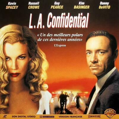 L.A. CONFIDENTIAL WS VF PAL LASERDISC Kevin Spacey, Russell Crowe