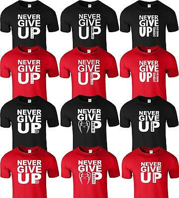 Never Give Up Liverpool Madrid 2019 Mens TShirt Champions Club Final Top League