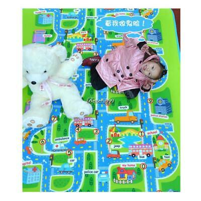 Kids Baby Non-Toxic Road Traffic Car City Town Map Safe Area Game BF9 01