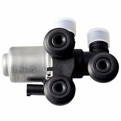 Heater Control Valve Single Solenoid Type Febi for BMW E39 5-Series E46 3-Series