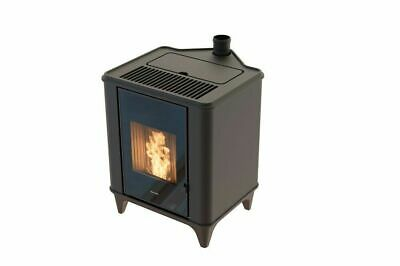 Stufa A Pellet RAVELLI AIR-CONVECTION LUNA 6 Kw Nero