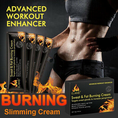 Cellulite Removal Cream Fat Burning Slimming Cream Muscles Relaxer 12g/Pack