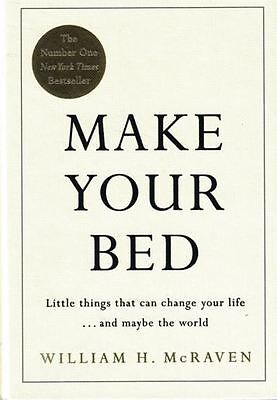 Make Your Bed di William H.Mcraven Nuovo Copertina Rigida