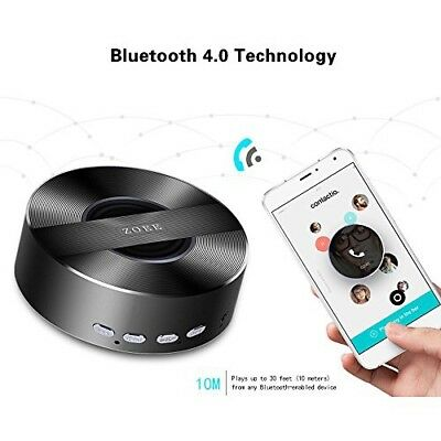 Mini Portable Wireless Zoee Bluetooth Speaker With High Bass and Microphone