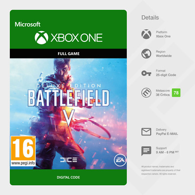 Battlefield V: Deluxe Edition (Xbox One) - Digital Code [GLOBAL]