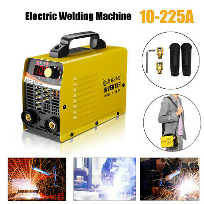 10-225A ARC-225 Inverter Welder LCD 92% Portable MMA Stick Welding Machine IGBT