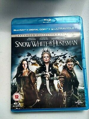 Snow White And The Huntsman (Blu-ray, 2012) Extended collectors Edition