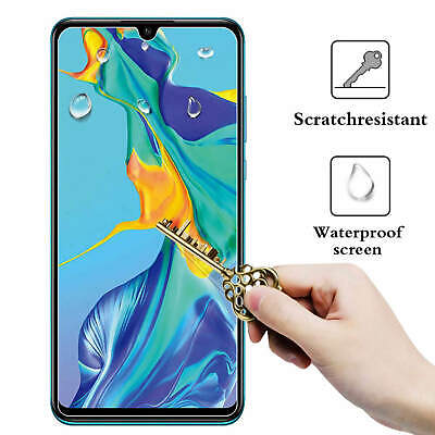 2 PCS New For Huawei P30 Tempered Glass Film Screen Protector Full Protection 9H