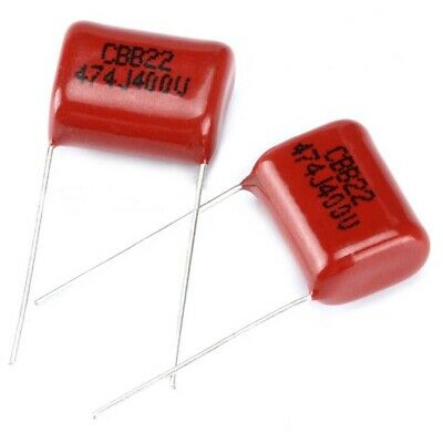 20x CBB//CL Capacitors 630V 0.022uF 22nF Polyester Film Capacitors Pitch 10mm