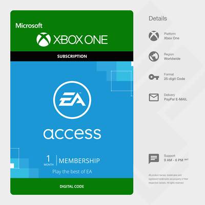 EA Access 1 Month Subscription (Xbox One) - Digital Code