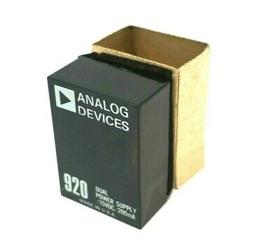 New Analog Devices 920 Power Supply