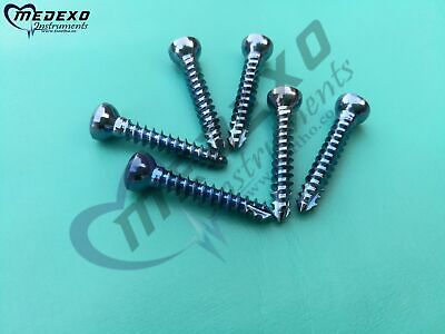 Cortical / Cortex Screw 3.5 mm Ø Self Tapping Titanium 200 PCs Orthopedic