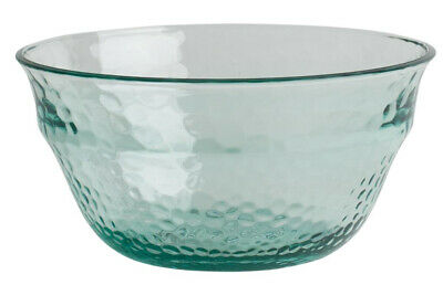 Navigate Recycled Glass Effect Acrylic Salad Bowl BBQ Dining Entertaining Party