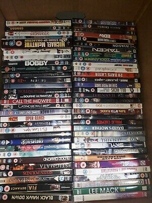 250 dvd bundle mixed carboot joblot