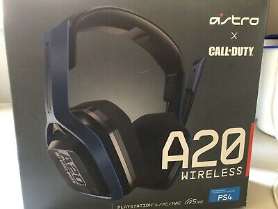 Astro Gaming Wireless Headset A20 For PS4/PC/MAC With TX Transmitter A20G01