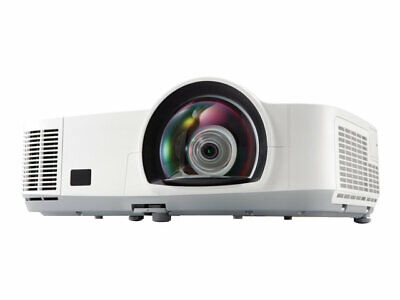 Nec M260Xs 2600 Lumens Hdmi Short Throw Projector New Lamp 6000 Hours Warranty