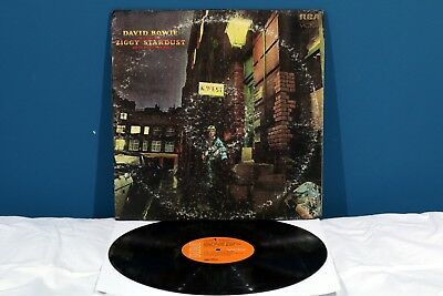 David Bowie The RISE And FALL Of ZIGGY STARDUST... LP Vinile 1972 USA Vinyl RaRo