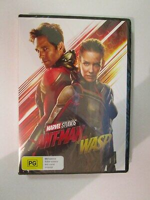 Antman And The Wasp DVD - Region 4 (BRAND NEW & SEALED)