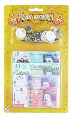 Childrens / Kids Play Money / Cash / Bank Notes & Coins  - Shopping Role Play