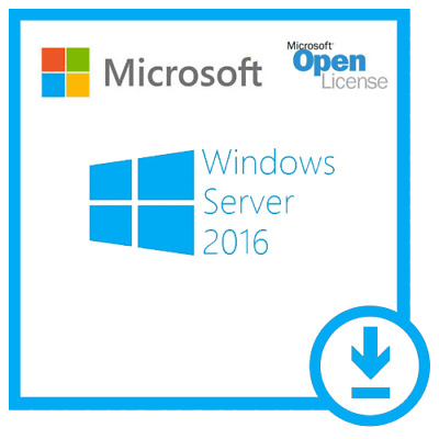 Windows Server 2016 Standard 64-bit License - Multilanguage - Life Time