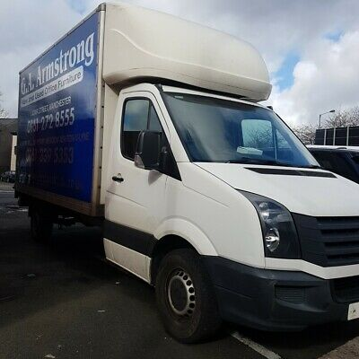 VW Crafter Luton Van with Tail lift 2012 LOW MILES VAT to add on final bid.